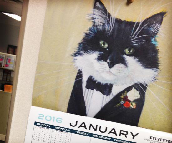 Business Cats Calendar