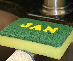 Calendar Sponge