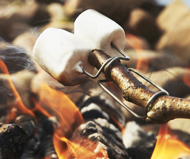 campfire-fork