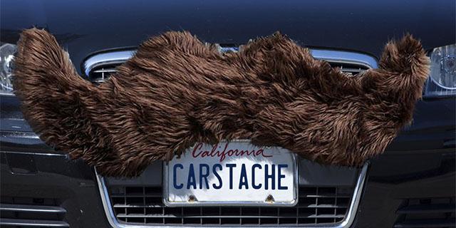 Car Mustache