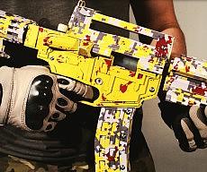 Cardboard Assault Rifle