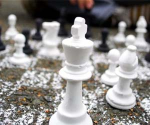 chalk-chess-set