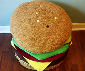 cheeseburger-pillow