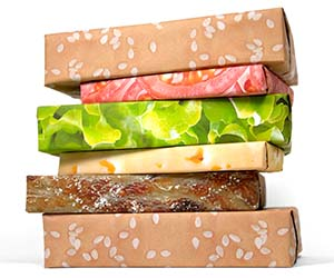 cheeseburger-wrapping-paper