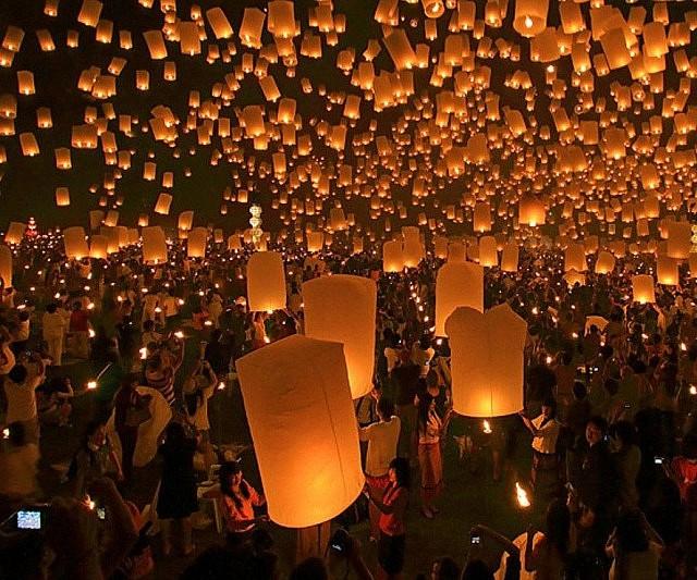Chinese Flying Lanterns