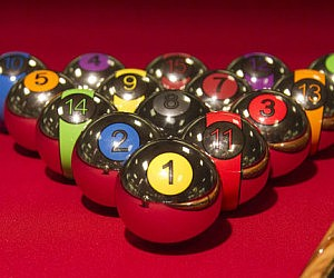 Chrome Billiard Balls