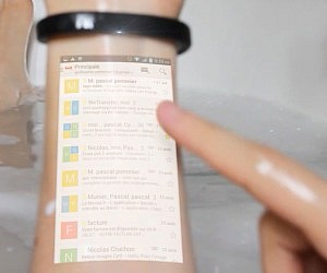 Wearable Touchscreen Bracelet