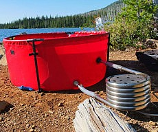 Collapsible Hot Tub