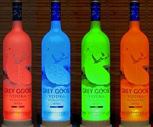 Color Changing Bottle Lamps