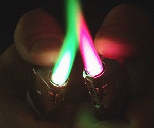 Colored Flame Lighters
