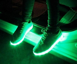 Colorful Light Up Shoes