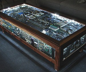 Circuit Board Coffee Table