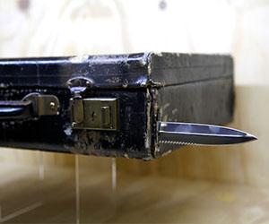007 Concealed Blade Briefcase