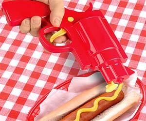 Condiment Dispenser Gun