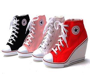 Converse Wedge Heel Shoes