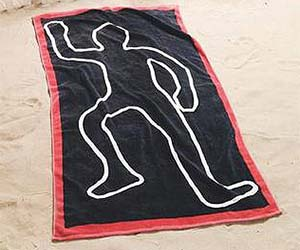 crime-scene-beach-towel