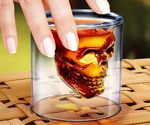 Crystal Skull Shot Glass