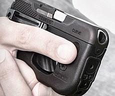 Compact Curved Handgun