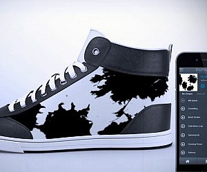 E-Ink Customizable Design Sneakers