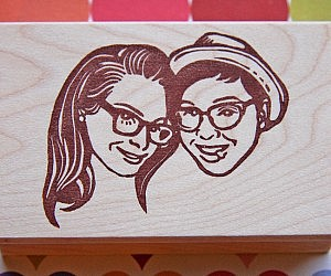 Customized Couples Stamp