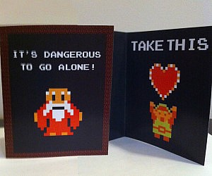 Geeky Romantic Cards