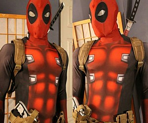 Deadpool Cosplay Morphsuit