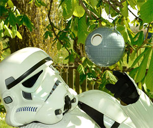 Death Star Bird House