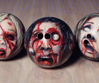 Decapitated Head Bowling Balls