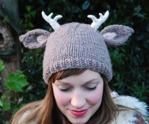 Deer Antlers Hat