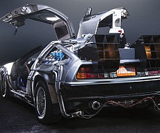 DeLorean Time Machine Conversion