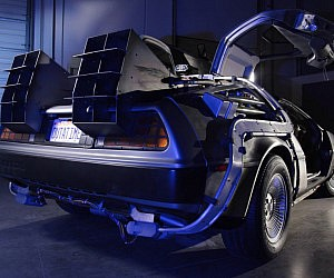 DeLorean Time Machine Rental Car