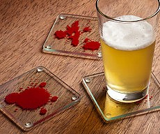 Dexter Blood Sample Coasters