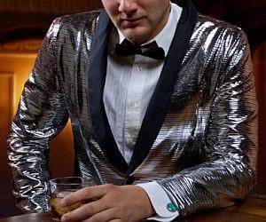 Disco Ball Tuxedo Jacket