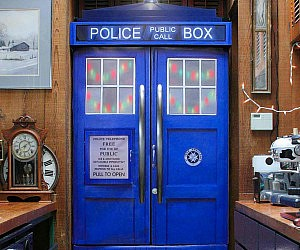 Doctor Who TARDIS Fridge Skin