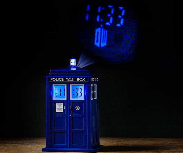 Doctor Who TARDIS Projector Clock