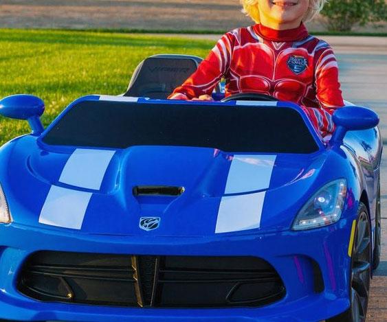 dodge-viper-kids-car