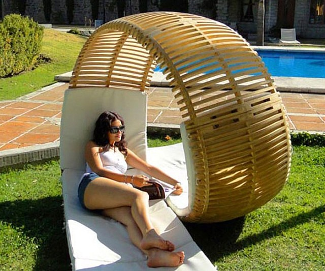Double Patio Lounger