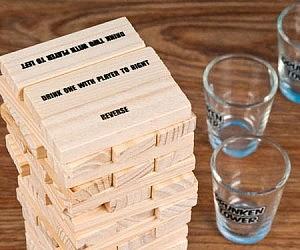 Jenga Drinking Game