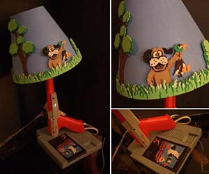 Duck Hunt Lamp