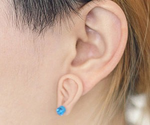 Ear Shaped Earrings