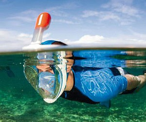 Easy Breathing Snorkel Mask
