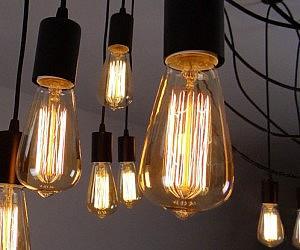 Edison Bulb Ceiling Lamp