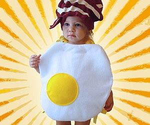 Eggs And Bacon Kid's Costume