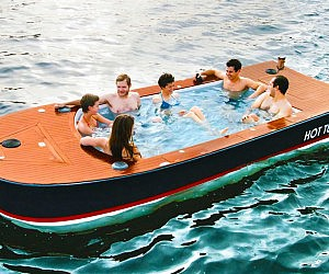 Electric Hot Tub Boat