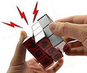 Electric Shock Prank Puzzle Cube