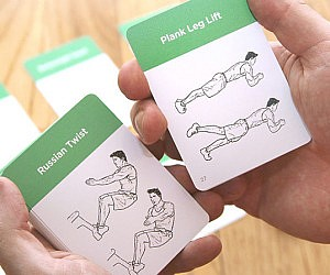 Exercise Flash Cards