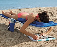 Face Down Beach Lounger
