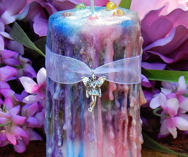 Faerie Magick Candle