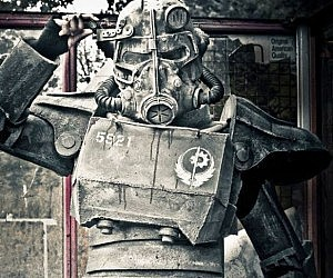 Fallout T45D Power Armor Costume