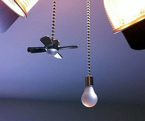 Fan and Light Bulb Pull Chains